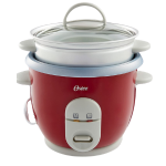 Oster 6 Cup red rice cooker